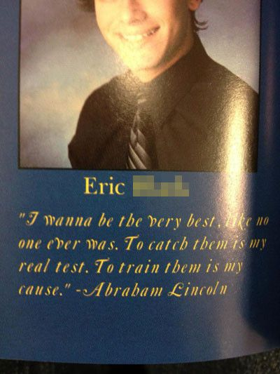 Inspirational Senior Quotes The Greatest Pokemon Trainer Ever From The Most Inspiring Senior