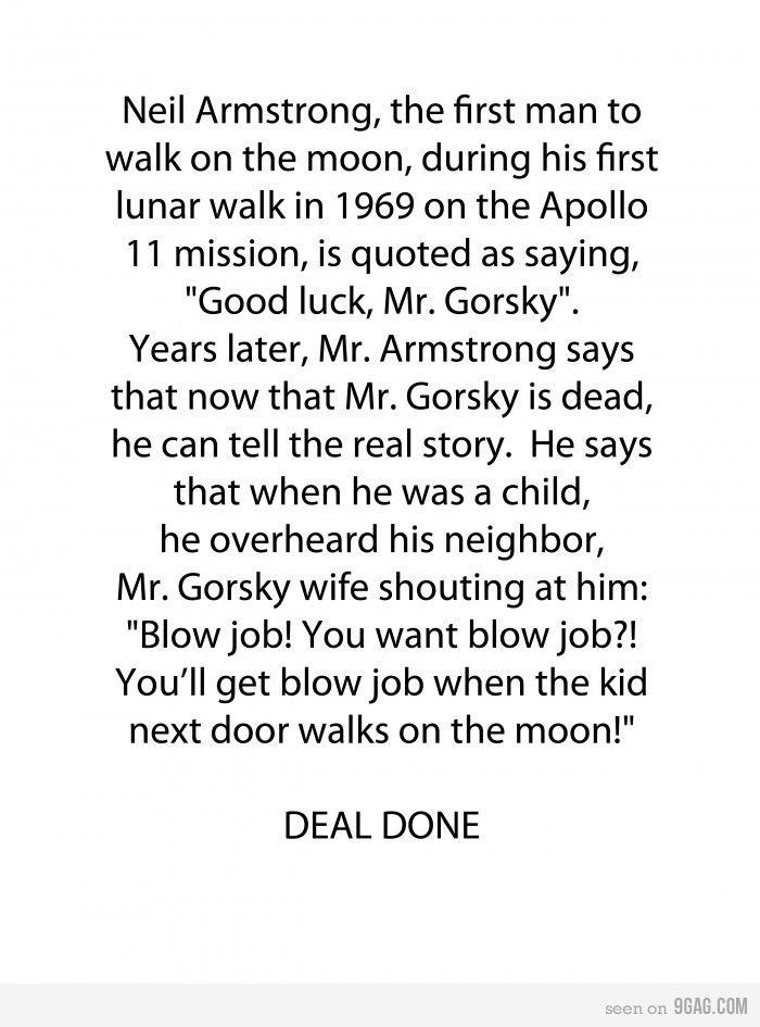 Good luck Mr Gorsky Funny Pinterest Hilarious, Humor and Random