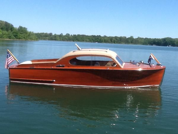 1949 Chris Craft Sedan Wooden Boats Classic Wooden Boats Boat