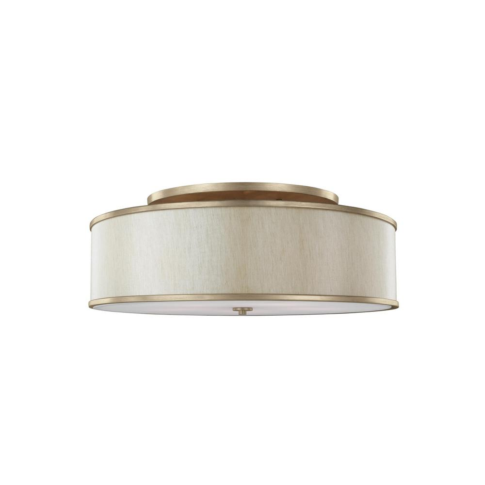 Feiss lennon light sunset gold semiflushmount lights and products