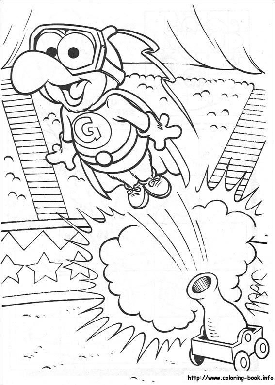 Muppet Babies Coloring Picture Bird Coloring Pages Cool Coloring Pages Birthday Coloring Pages