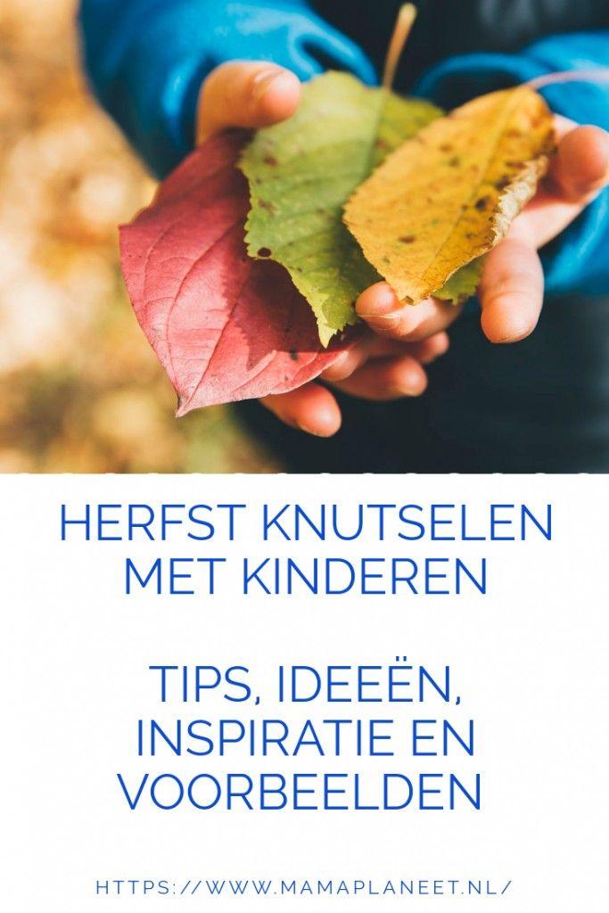 Herfst knutselen met kinderen, baby,peuter,kleuter, tips