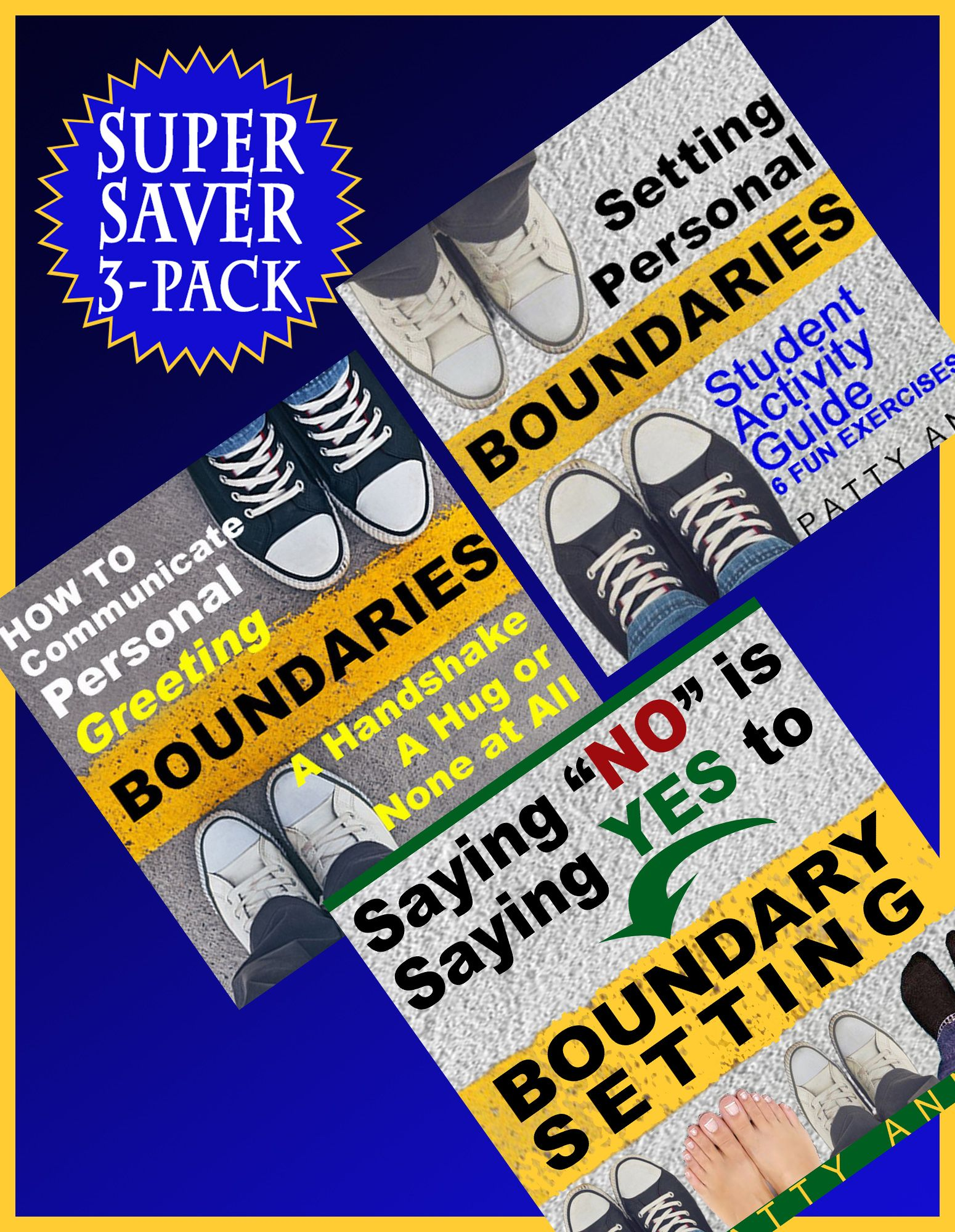 Boundary Setting 3 Pack Must Have In