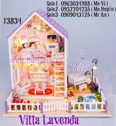 Villa Lavenda ( SP Tặng Mica + 1 Keo UHU 35 ml)