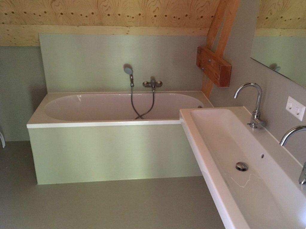 Polyester Badkamer Muur : Badkamer van polyester in de fortwachtershuisje badkamers
