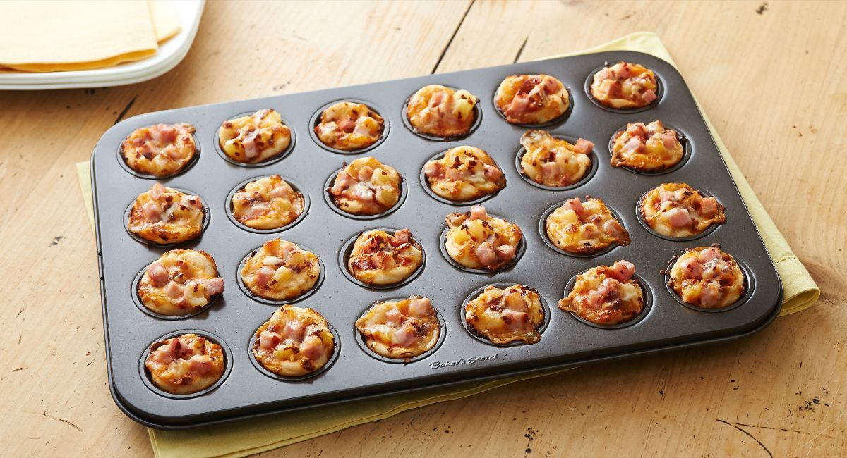 Bakers secret mouthwatering mini appetizers in a