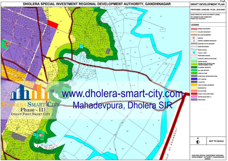 Invest in agriculture land in Dholera Easy to reach Dholera to