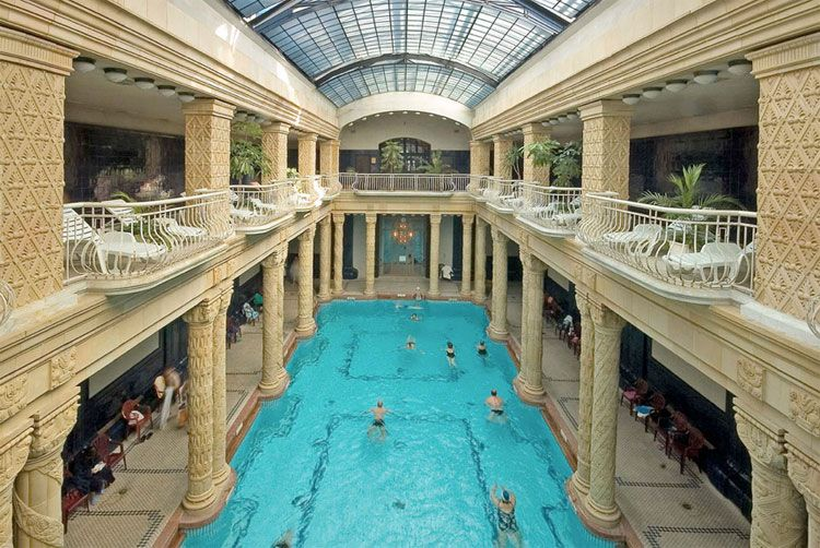 gellert thermal baths in budapest awesome indoor pools pinterest bath indoor pools and. Black Bedroom Furniture Sets. Home Design Ideas
