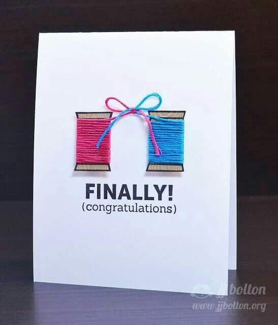 Simple but cute Wedding invitation Wedding Invitations