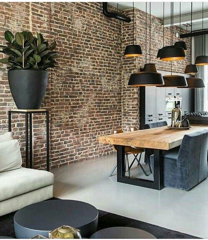 Pin de Mosath en Home Pinterest Comedores, Interiores y Cocinas - decoracion de apartamentos pequeos