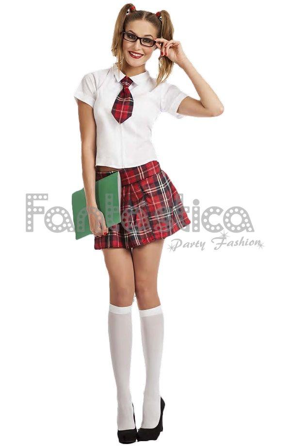 disfraz para mujer colegiala sexy v tienda esfantastica