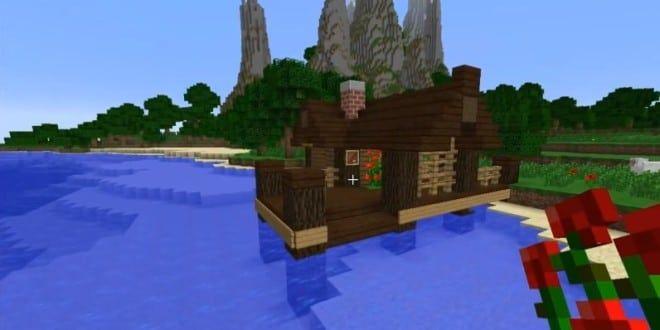 Minecraft House Ideas Fishing Hut Beach 660x330 Jpg 660 330 Pixels