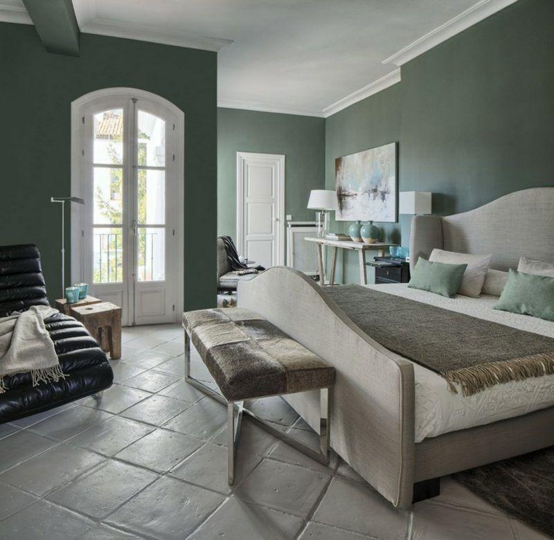 Farbe Salbei im Interieur für ein angenehmes, natürliches