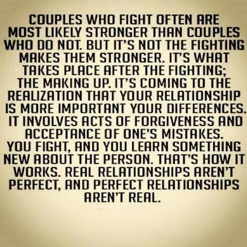 Real Relationships Aren T Perfect And Perfect Relationships Ain T Real Quotes About Love And Relationships Couple Fighting Quotes Relationship Images