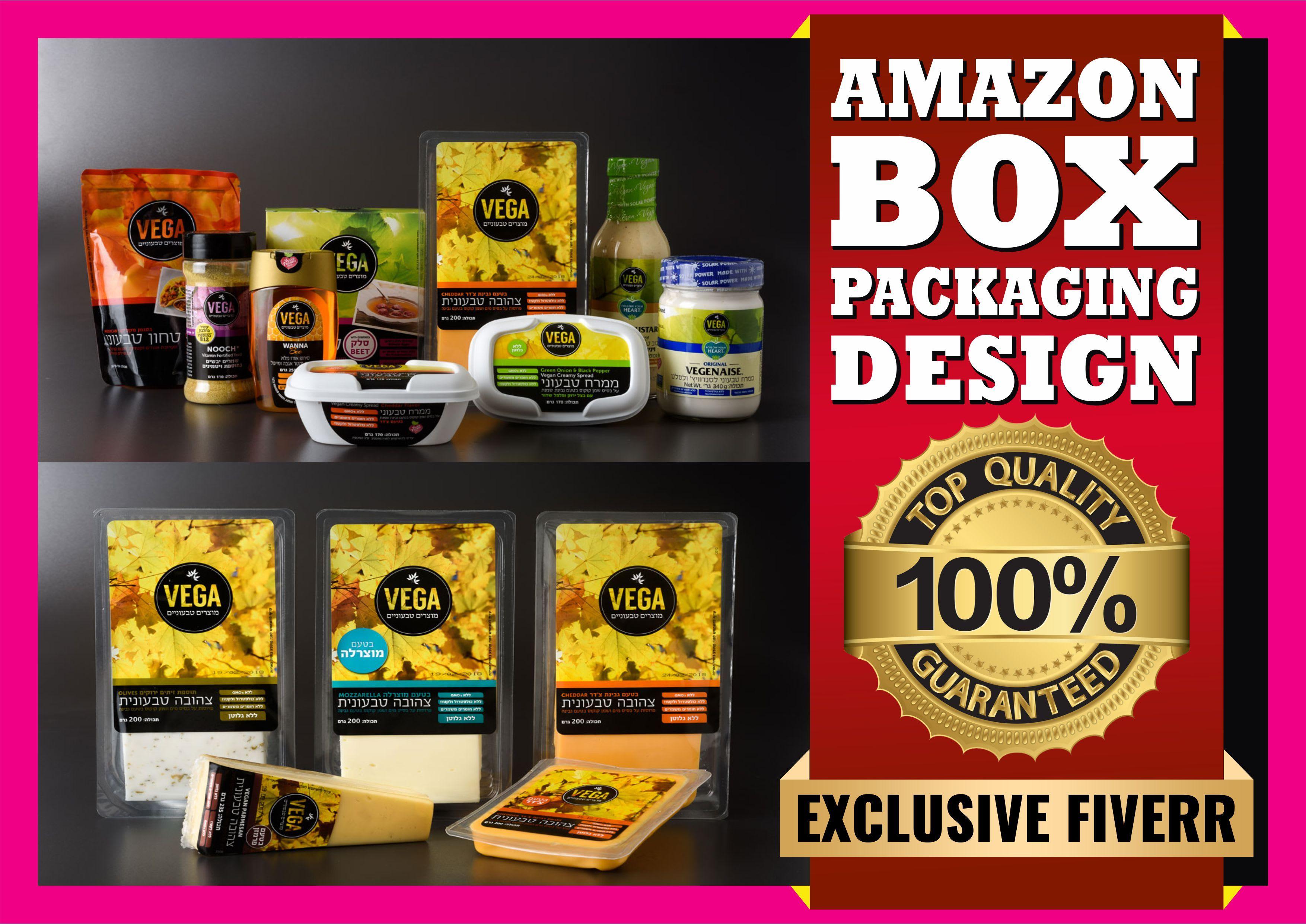 Download Amazon Box Packaging Design Box Packaging Design Unique Packaging Design Packaging Design