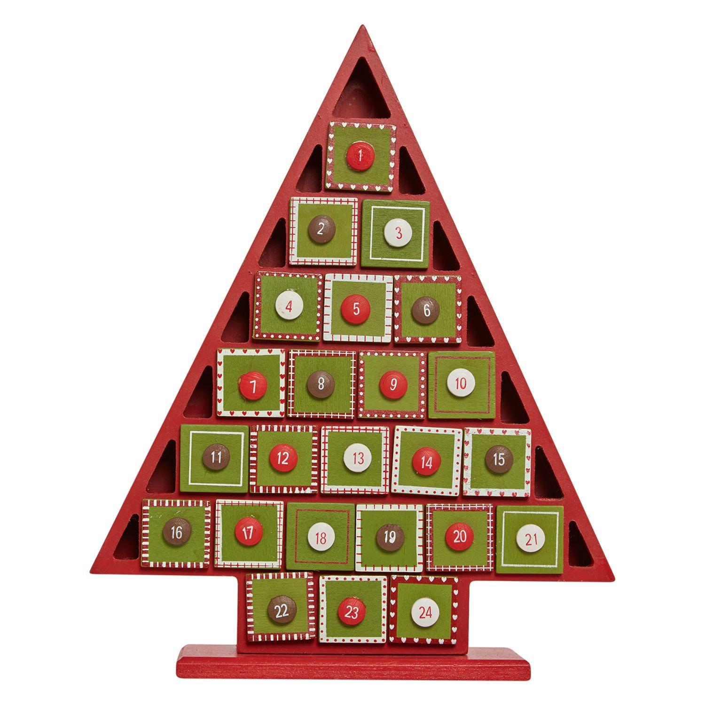 "Heaven Sends"" 35cm Christmas Tree Advent Calendar TK Maxx"
