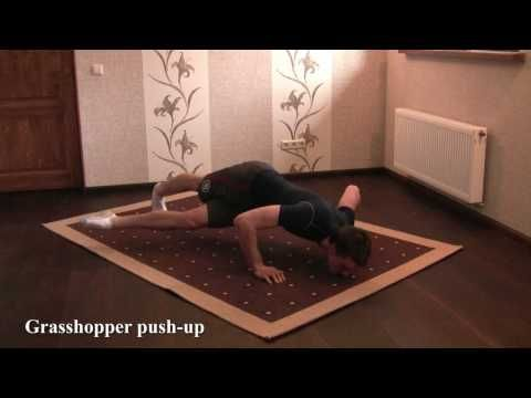Advanced push-up exercises