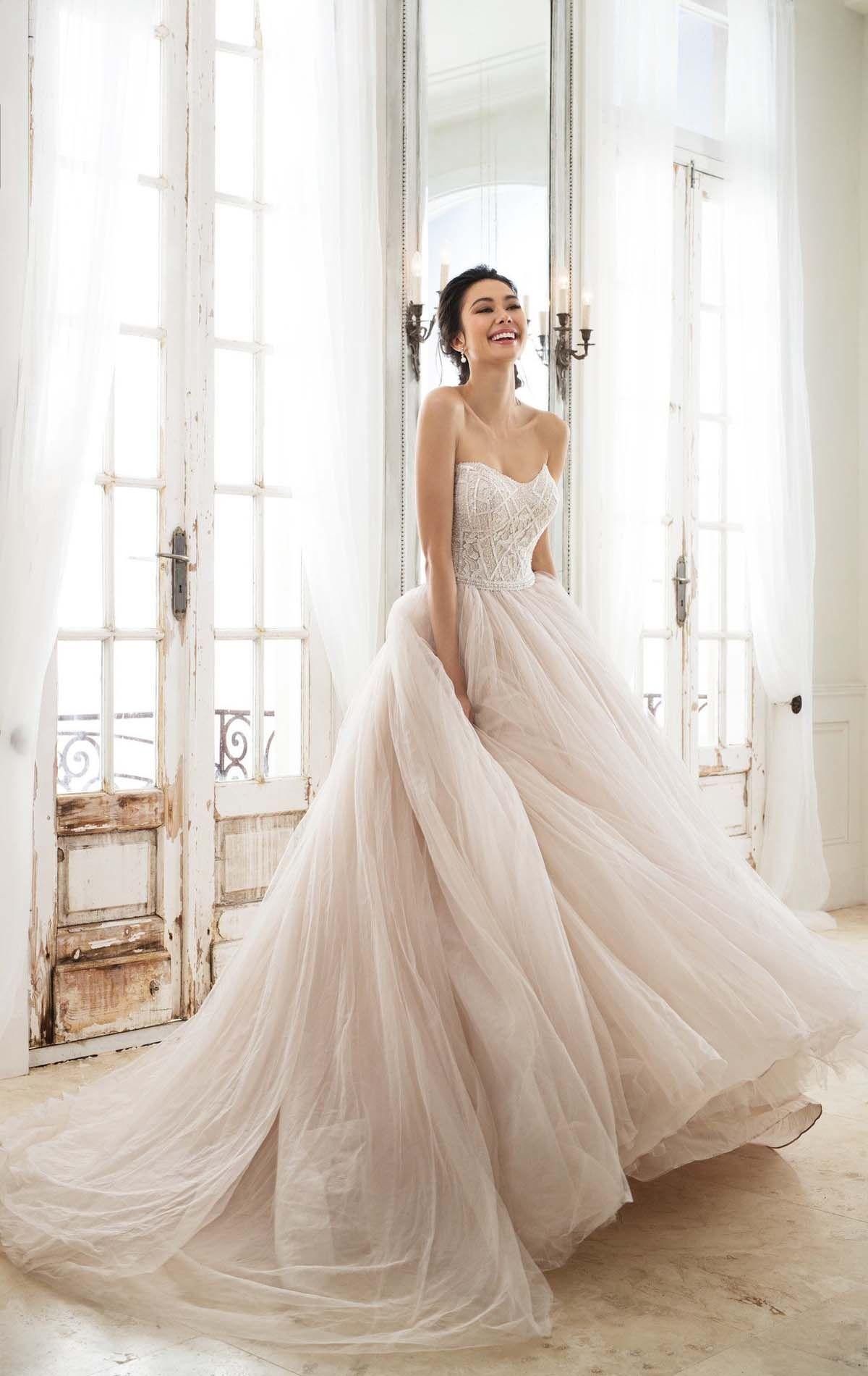 Latest wedding dress romantic wedding dresses