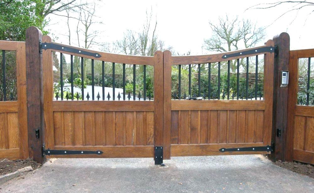 Wrought Iron Fence Inserts Amazing Wooden Gates Wooden Garden Gate Wood Gate