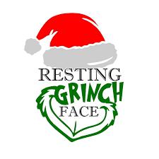 Download Image result for free grinch svg files | Grinch face svg