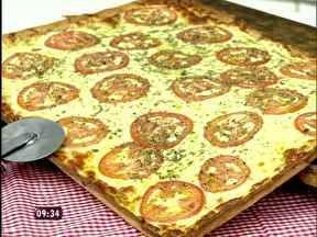 Falsa Pizza - Foto de Mais Você na TV