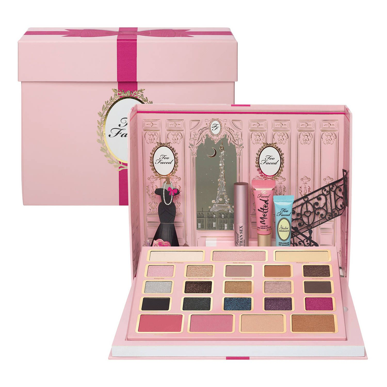 le grand palais de too faced coffret de maquillage de too faced sur wish list. Black Bedroom Furniture Sets. Home Design Ideas