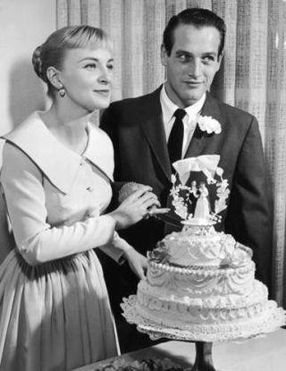 Resultado de imagen de diario paul newman joanne woodward wedding
