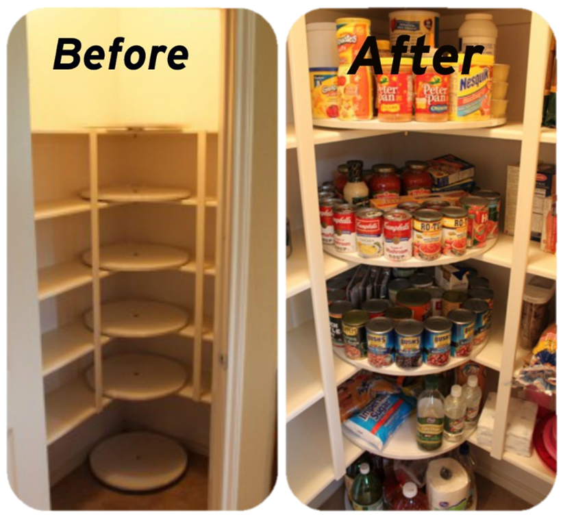 The Grocery/Meal Planner Pantry