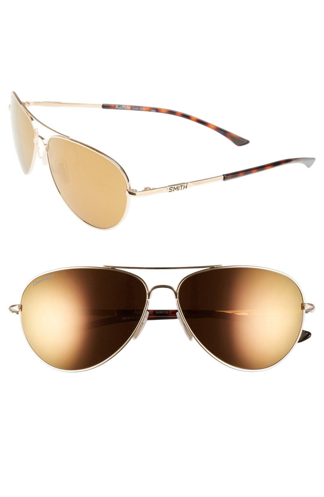 decfcf3f01 Smith Optics  Audible - ChromaPop  60mm Polarized Aviator Sunglasses ...