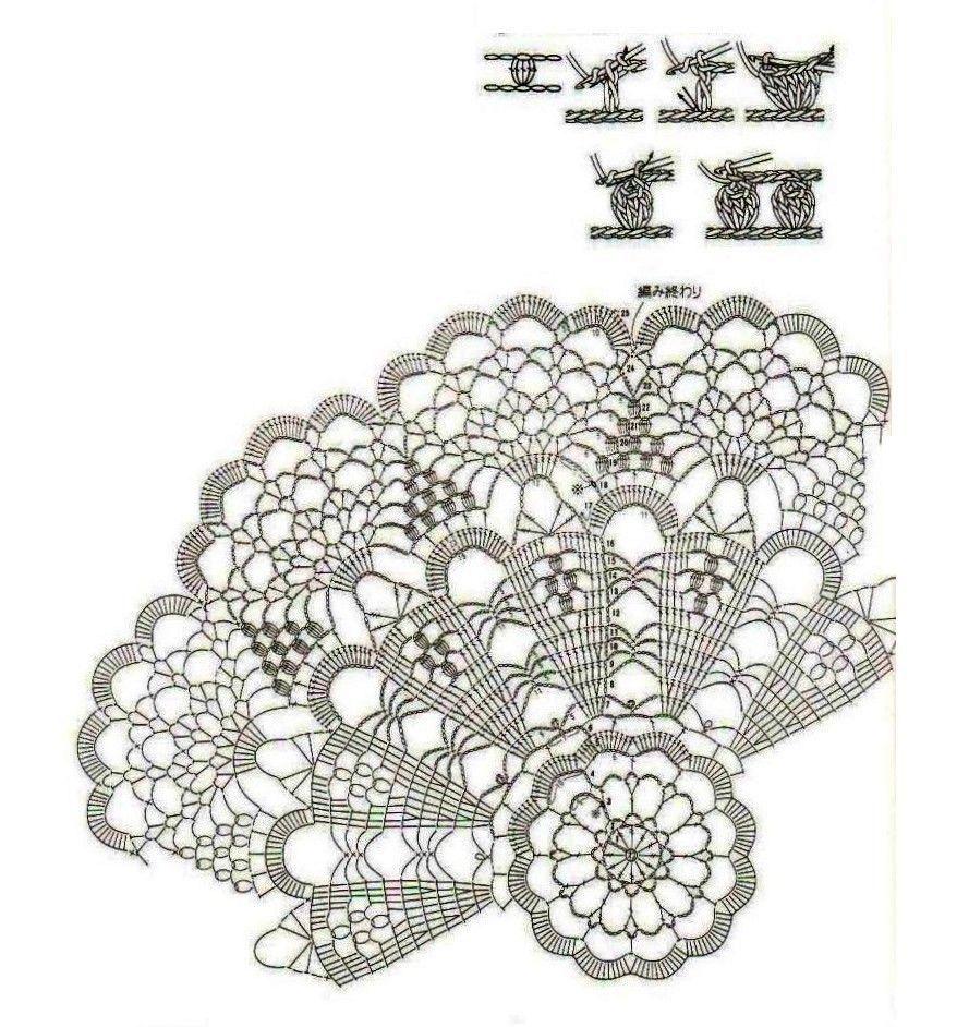 Free Diagram Ganchillo Angelines Pinterest Crochet Doily Patterns Doilies Thread Crochetfilet