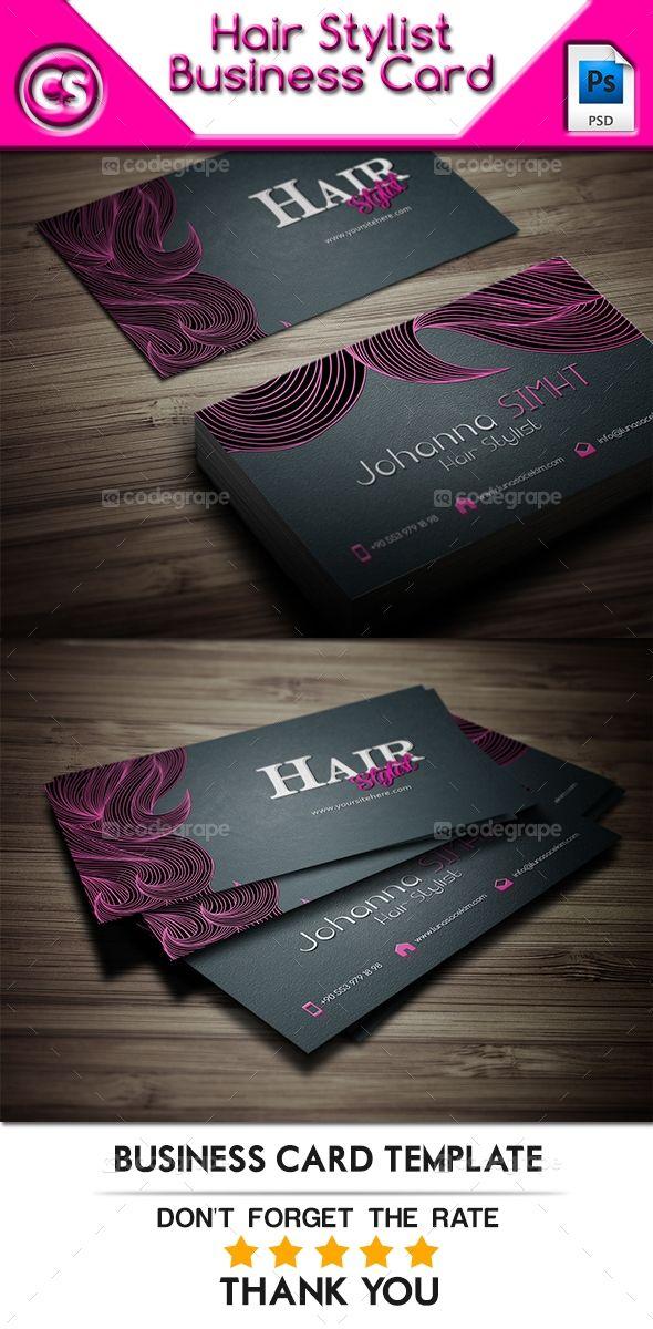 Hair Stylist Business Card Hairstylist Business Cards Stylist Business Cards Hair Stylist Business Cards Design