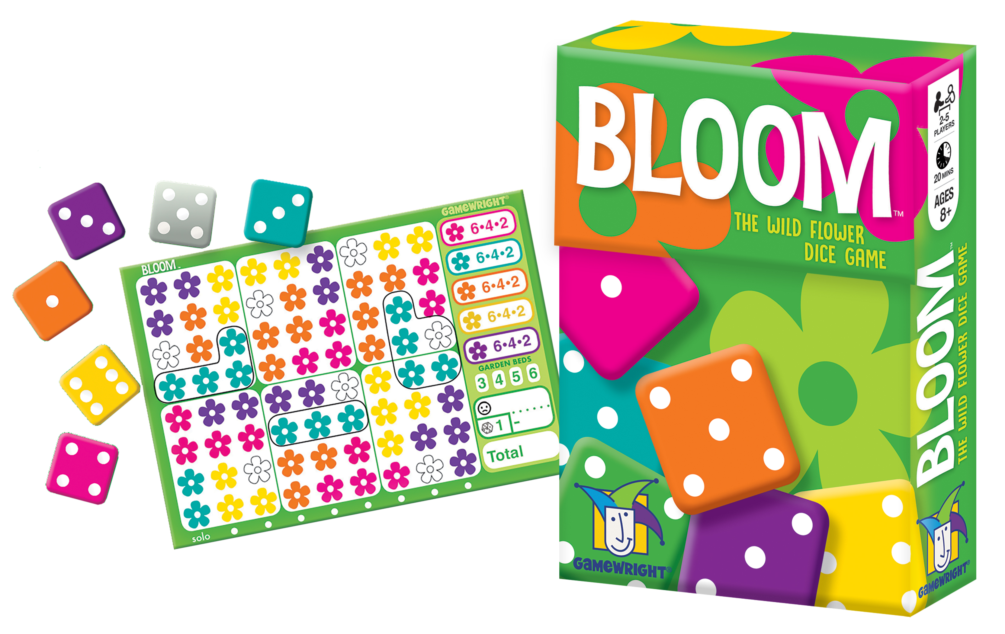 Bloom Bloom Board Games For Kids Dice Games