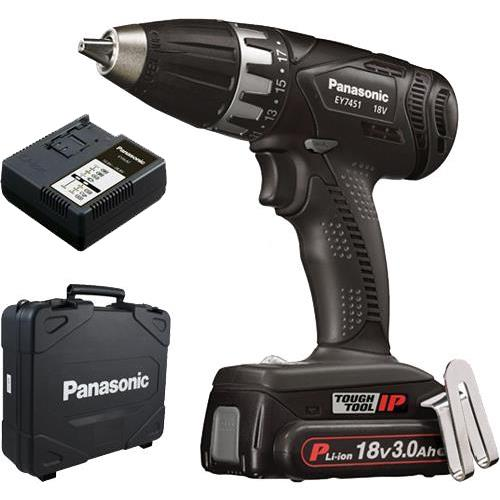 Panasonic Ey7451 18v Drill Driver 1x 3ah Drill Driver Drill Panasonic Power Tools