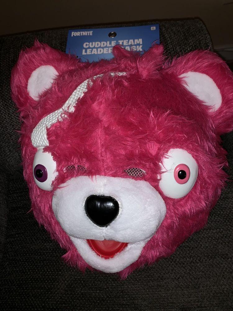 sold out fortnite spirit halloween cuddle team leader pink bear