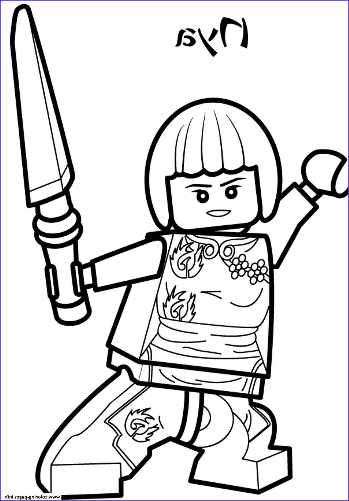 Print nya ninjago sd7d7 coloring pages Models  Lego coloring
