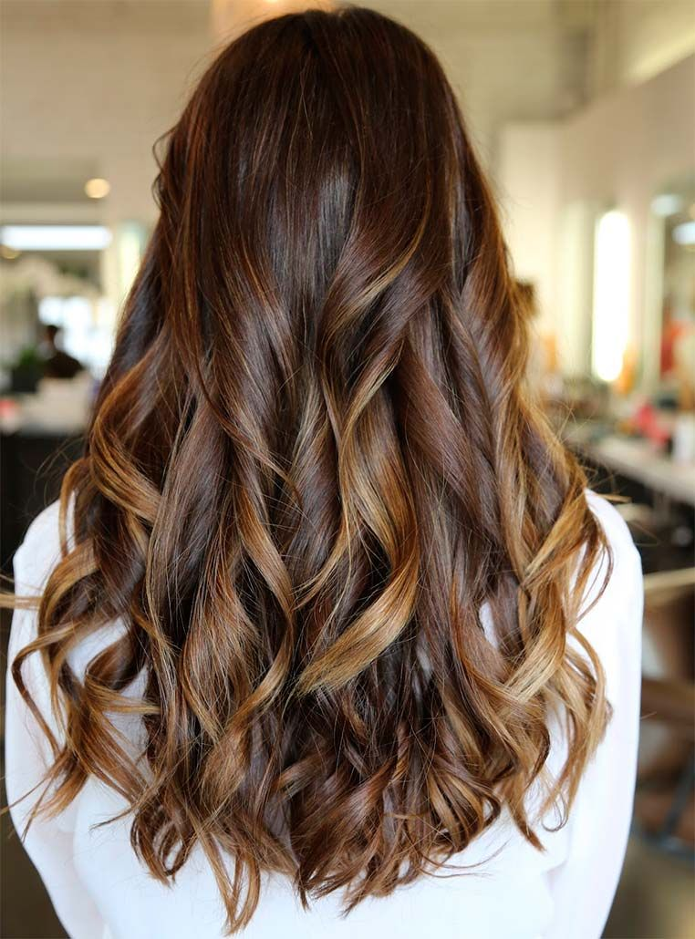 27 dark brown hair with highlights to inspire you highlights 27 dark brown hair with highlights to inspire you pmusecretfo Gallery
