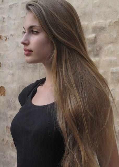 Elegant Light Brown ash Hair Color