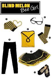 Blind Melon Bumblebee Girl Costume