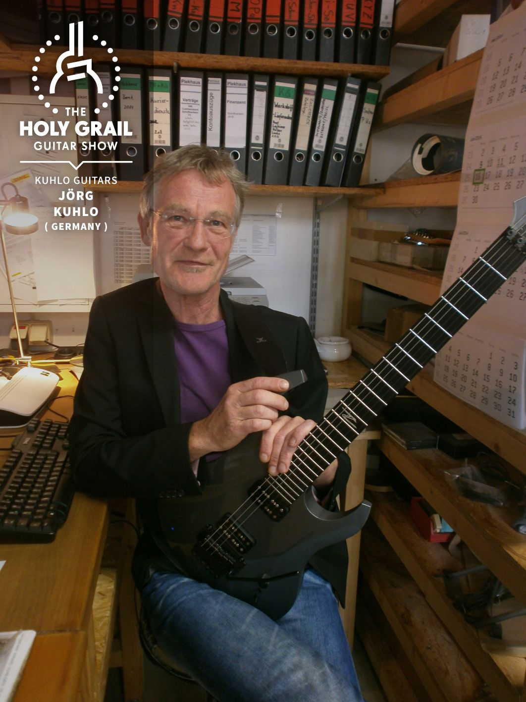 Exhibitor at The Holy Grail Guitar Show 2014: Jörg Kuhlo, Kuhlo Guitars, Germany  http://www.kuhloguitars.de  https://www.facebook.com/kuhloguitars http://holygrailguitarshow.com