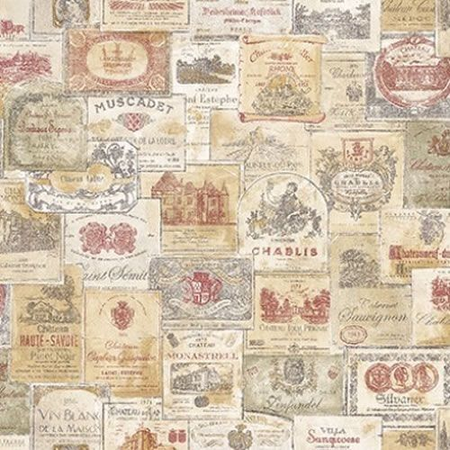 Vintage French Wallpaper Wine Labels Vintage French Memories 2 Galerie Wallpaper Wine Label Wallpaper Vintage Style Wallpaper Wine Wallpaper