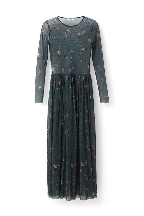 maxi kjole med ærmer