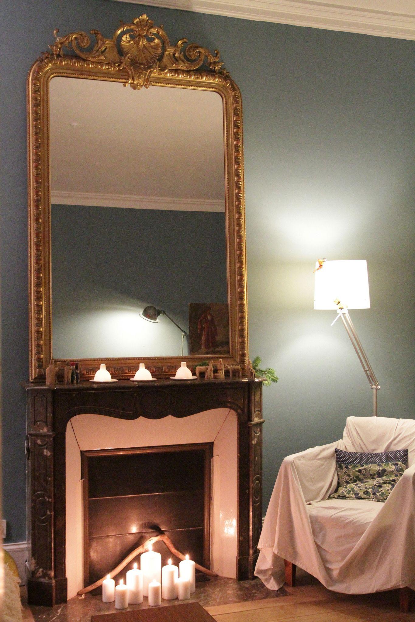 coin chemin e indoor spaces en 2019 miroir chemin e d co salon et d coration maison. Black Bedroom Furniture Sets. Home Design Ideas