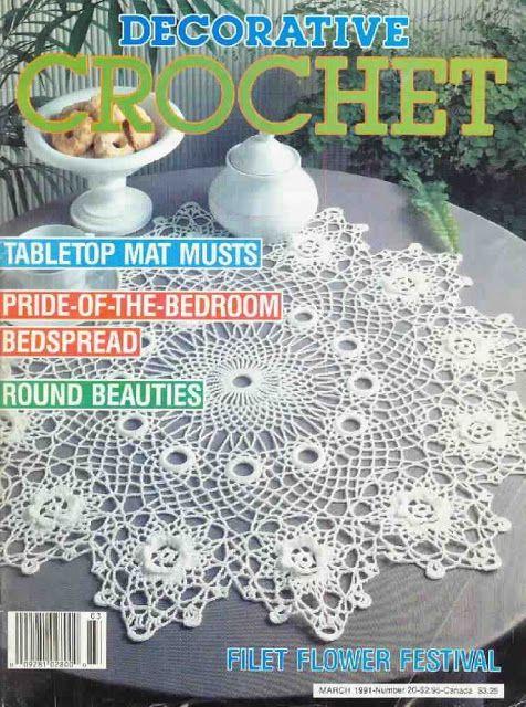 Decorative Crochet Magazines 14 - Ольга Широцкая - Picasa Webalbumok