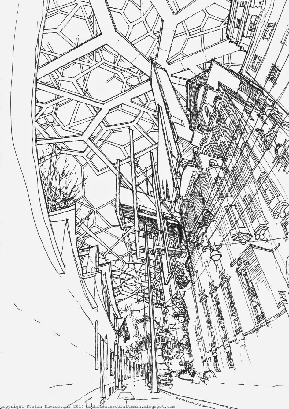 The Architecture Draftsman Landed 10 Architecture Drawing Architecture Sketch Drawings