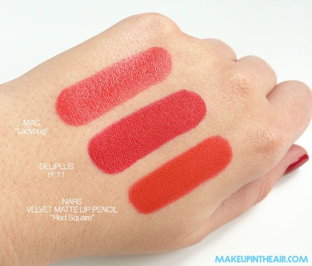 Labial Mate DELIPLUS - nº 11 (rojo) www.makeupintheair.com ...