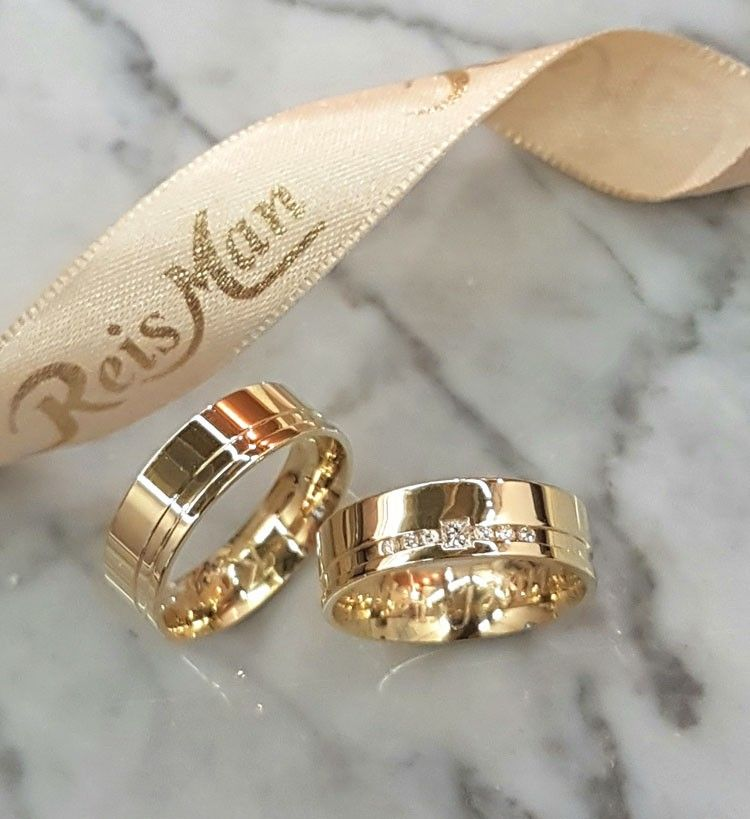 Alianças João Pessoa ♥ Casamento e Noivado em Ouro 18K   Wedding ... 1de5e81595
