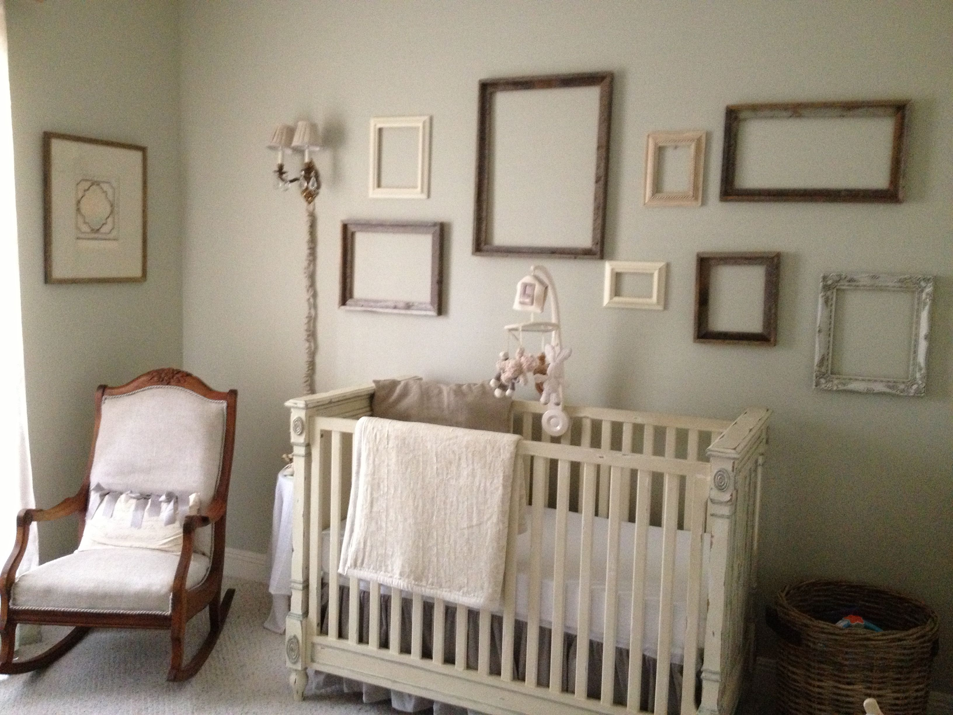 Shabby chic nursery for Baby D Ice Ice Baby Pinterest