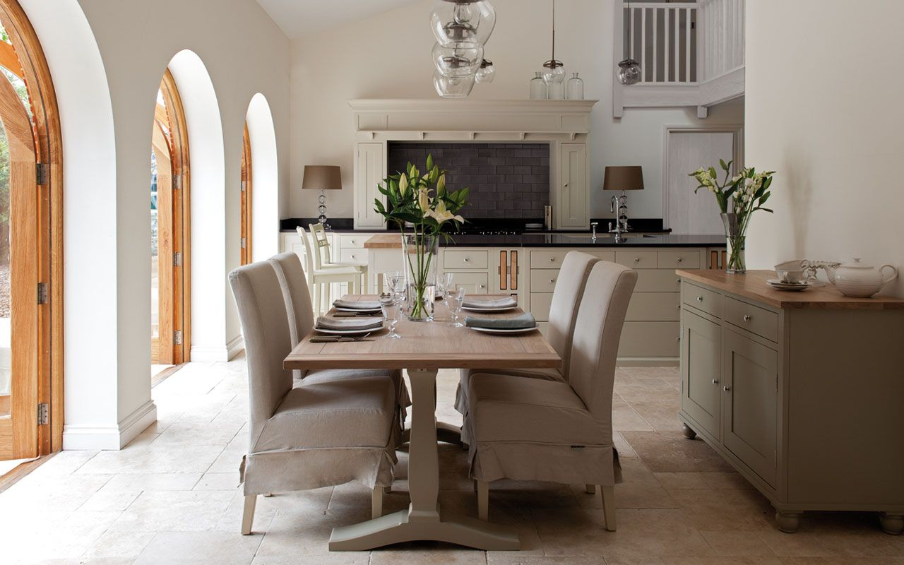 open kitchen dining design by neptune