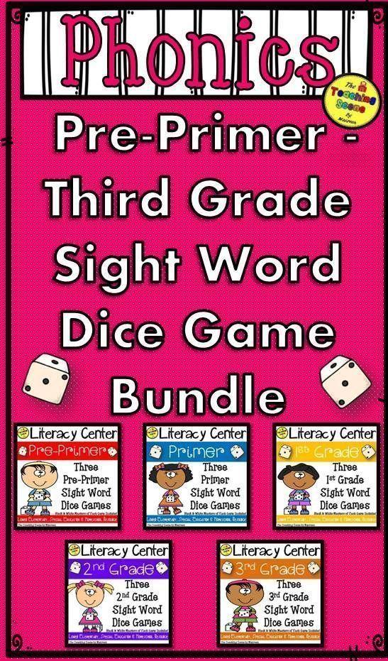 PrePrimer Through 3rd Grade Sight Word Practice Three
