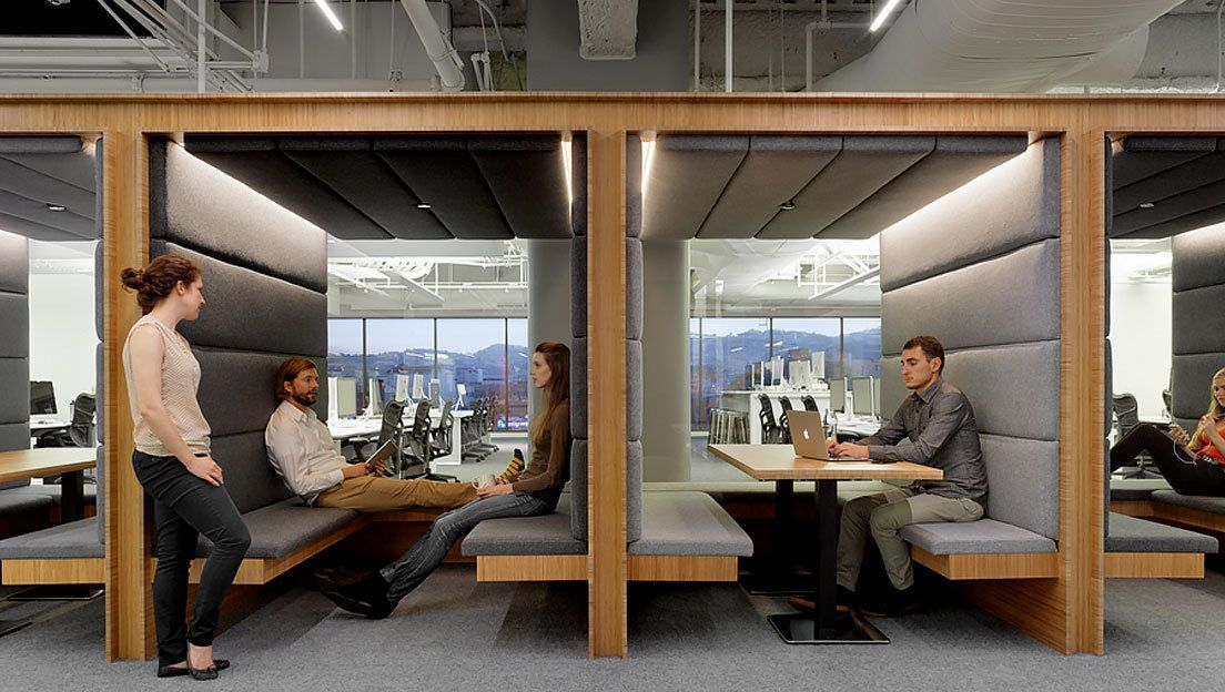 Charmant Images Booth Seating End   Google Search · Workplace DesignCoworking Space Office ...